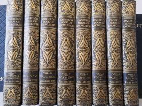 CASSELLS BOOK OF KNOWLEDGE 8本全 海量插图  AN ENCYCLOPEDIA FOR CHILDREN  大量彩图    26X19CM