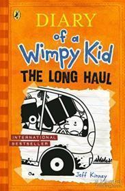 Diary of a Wimpy Kid:THE LONG HAUL  英文原版 精装 正版大32开 近新