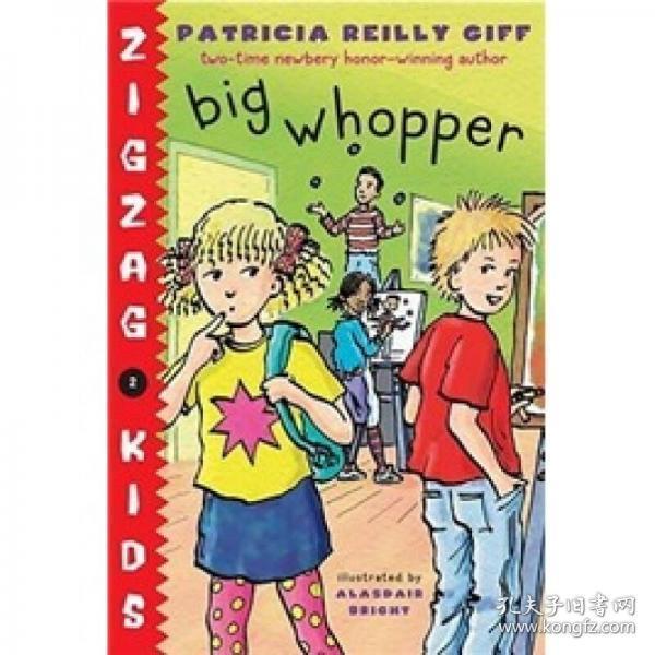 Big Whopper 英文原版 插图本 精装大32开 近新