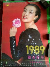 1989年明星挂历:银苑新星(共10张)