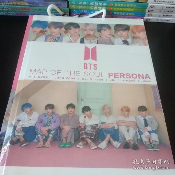 BTS写真集大礼包 赠明信片签名海报卡贴周边袋等