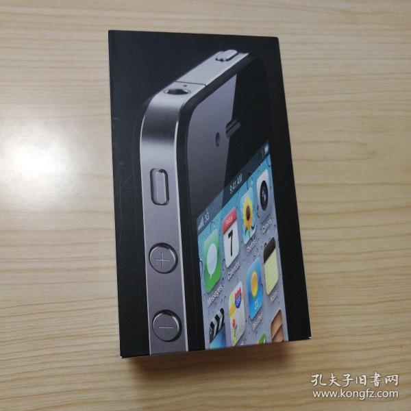 苹果4手机(iphone4)原装包装盒(带说明书)