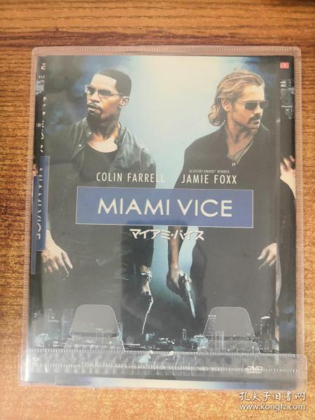 DVD 迈阿密风云  1碟装 正常播放