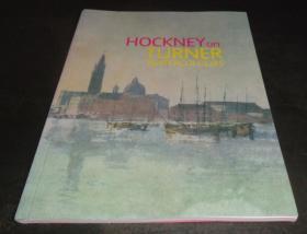 2手英文 David Hockney on Turner Watercolours 大卫霍克尼透纳 sfd81