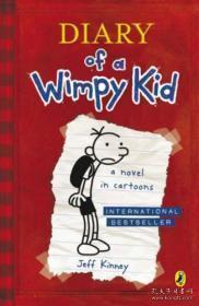 Diary of a Wimpy Kid  英文原版  正版大32开