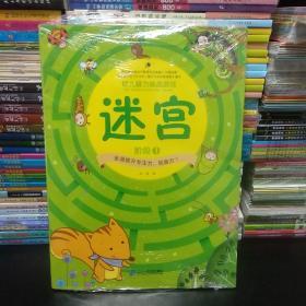 幼儿脑力挑战游戏 全3册