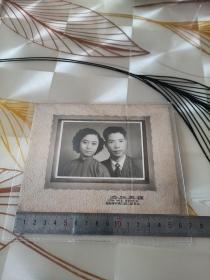 民国中西合并结婚照片