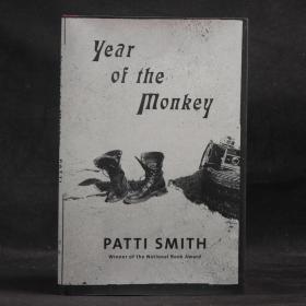 英文原版現貨 PATTI SMITH: year of the monkey 帕蒂·史密斯新作:猴年【精裝毛邊本】
