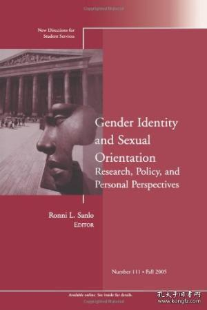 Gender Identity And Sexual Orientation: Research Policy And Personal Perspectives: New Directions