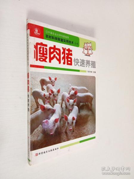 瘦肉猪快速养殖
