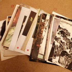明信片散页 一起走100多张 60年代到90年代