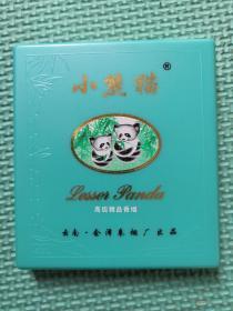 小熊猫牌10支装老烟盒(塑料)【特需专供高级精品香烟】