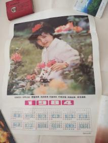 1984年年历画