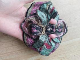 徽州民俗文化:清代手工刺绣儿童帽