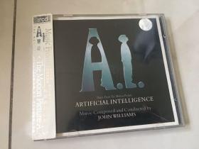 音乐CD:《人工智能》电影原声大碟