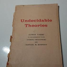 Undecidable Theories不可判定的理论