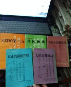 井冈山精神教育丛书:苏区干部好作风、井冈雄魂、光辉的第一山、真正的铜墙铁壁、光荣的赣东北、红星照征程(5本合售)