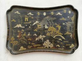 收藏多年的漆器果盘特价,,0011