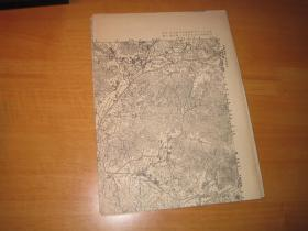 抗日战争时期地图-广东省各地方56张
