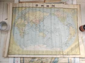 世界地图 1980年版本