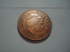 英国2便士硬币 2008