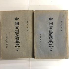 中国文学发展史上下