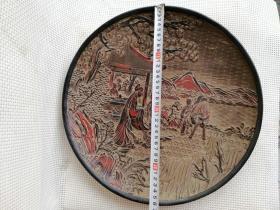 收藏多年的漆器果盘特价1002