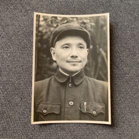 【老照片】邓小平同志早期照片-原版照片少见