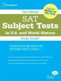 The Official SAT Subject Tests in U.S. History and World History