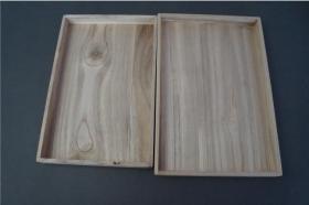 旧桐木盒1      日本制   274*182*25mm