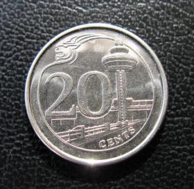 新加坡硬币2个
