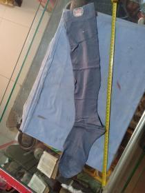 (箱20)民国 上海加拿大织造厂  鹰轮牌 长筒袜,带广告标,64*9cm