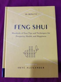 10-Minute Feng Shui 十分钟风水 数以百计的简单提示和技巧 精装英文版