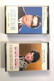 磁带《杏花雨梧桐雨》与《美丽的姑娘》两盘合售