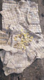 下乡刚收到老退役军人收藏的1963年毛主席提倡学习雷锋精神出品的铝制镀铜像章约800枚左右,红色珍藏佳品,包老保真,
