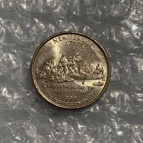 2003年世界硬币大奖赛 最佳贸易币:美国新泽西州革命的十字路口纪念币