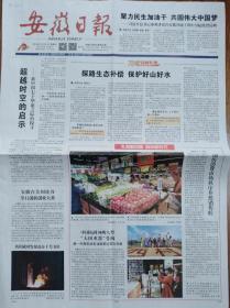 安徽日报【我国成功发射高十号卫星】