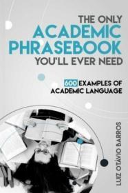 The Only Academic Phrasebook Youll Ever Need
