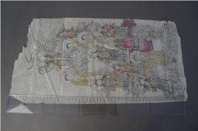 佛教绘画   多色 手绘  画芯   52*26.5cm