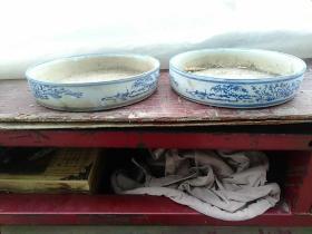 瓷花盆(一对)全品