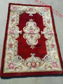 纯手工羊毛地毯,品相如图,包存完好,全品无破损。