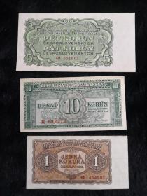 3张外国纸币!如图所示