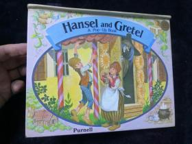 Hansel and Gretel A Pop - Up Book 奇幻森林历险记(英文原版彩色立体书)16K