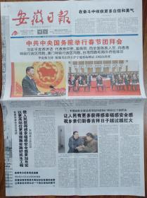 安徽日报【新年贺词】