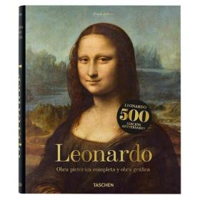 现货【TASCHEN】达芬奇Leonardo da Vinci完整画集蒙娜丽莎封面500周年纪念版