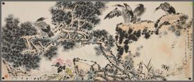 中国美术家协会副主席【潘天寿】花鸟