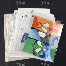 佚名 《赛璐珞》动漫设计原稿 一组三十余幅 HXTX166442