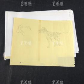 佚名 动漫设计画稿等 一组十余幅 HXTX166446