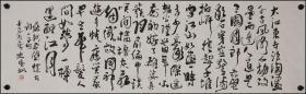 中国美术家协会主席【范迪安】书法