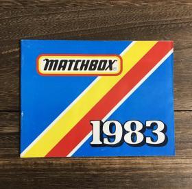 【1983年英文老童书】《火柴盒玩具年鉴1983》